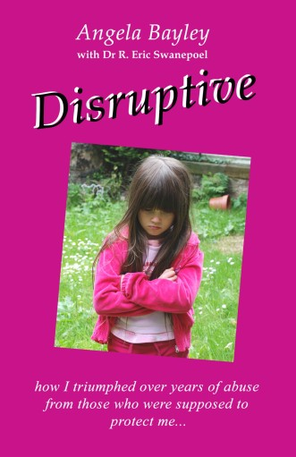 The front cover of Disruptive (ISBN 13: 9780956325808 ISBN 10: 0956325807) published in December 2009.  Designed and photographed by Vroni Holzmann.