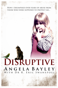 Cover of the ebook version of 'Disruptive'. designed by Kit Foster.